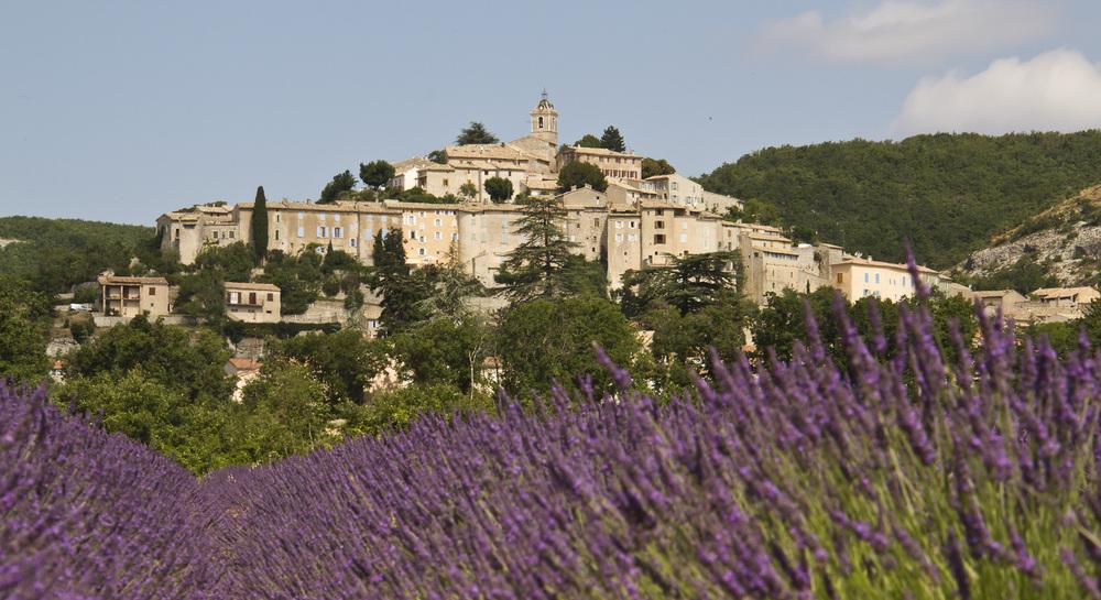 Le-village-de-Banon-en-provence